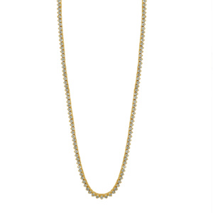 """10K 2.01-2.04CT D-NECKLESS MENS RDS  P1  26"""""""