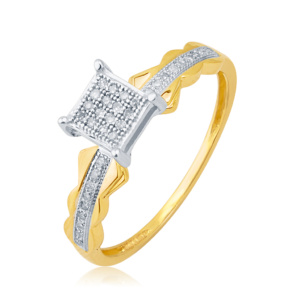 10K 0.11CT D-RING LDS RDS MP