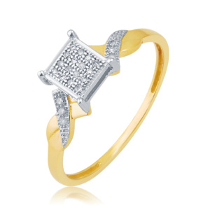 10K 0.07CT D-RING LDS RDS MP
