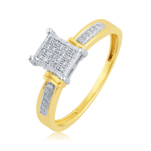 10K 0.10CT D-RING LDS RDS MP