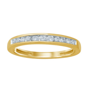 10K 0.14-0.18CT D-BAND RING LDS RDS