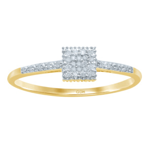 10K 0.06-0.11CT D-RING LDS RDS