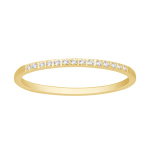 14K 0.06-0.07CT D-RING BAND MACHINE LDS RDS