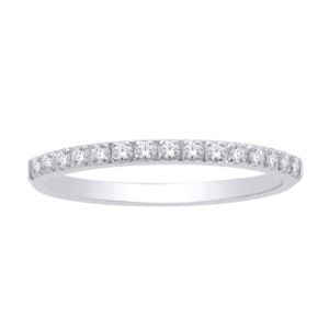 14K 0.25-0.31CT D-RING BAND MACHINE LDS RDS