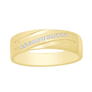 10K 0.05-0.06CT D-RING BAND MACHINE LDS RDS