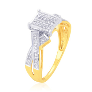 10K 0.10-0.20CT D-RING LDS RDS MP