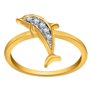 10K 0.10CT D-RING LDS RDS