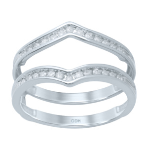 10K 0.18-0.21CT D-RING GUARD LDS RDS