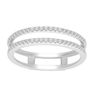 10K 0.21CT D-RING GUARD RDS LDS