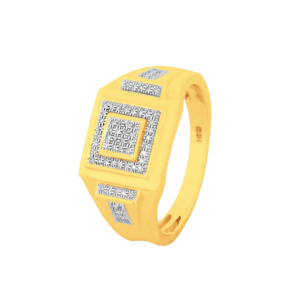 10K 0.13CT D-RING MENS RDS MP